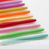10 Pcs Rainbow Color Rubber Handle Aluminum Hook Croceht Hook for Weaving And Knitting