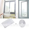 DIY Self-adhesive Mosquito Window Screen Netting Mesh Hook Loop Curtain