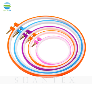 Wholesale DIY Knitting Tools Plastic Embroidery Hoop