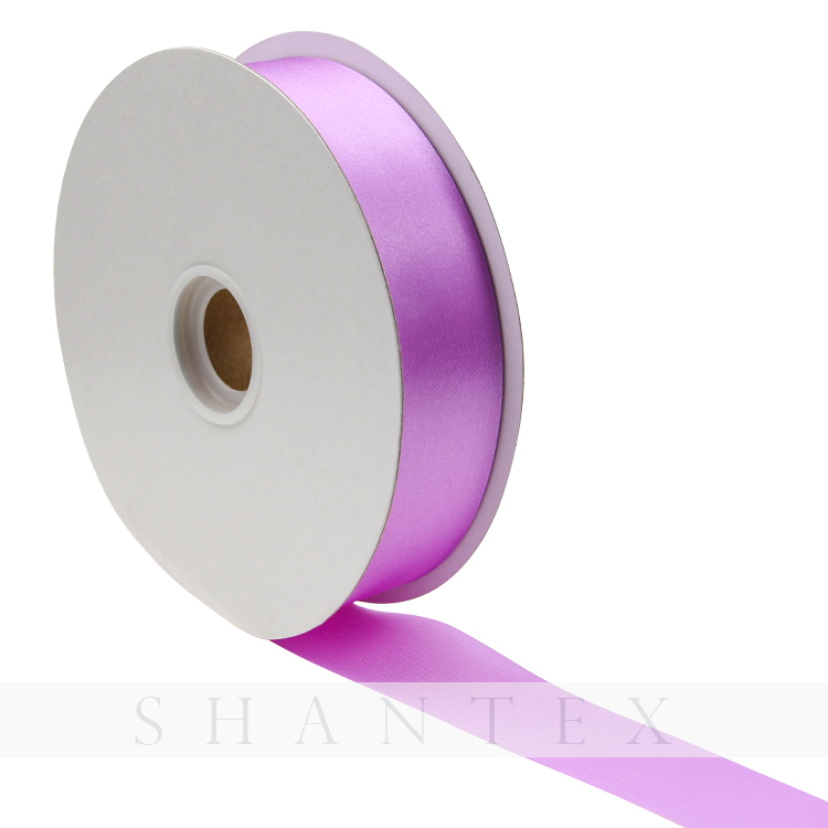 Polyester Solid Color 3-100MM Single/Double Faced Satin Ribbon